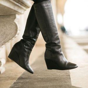 Loeffler Randall Sofie Wedge Boots